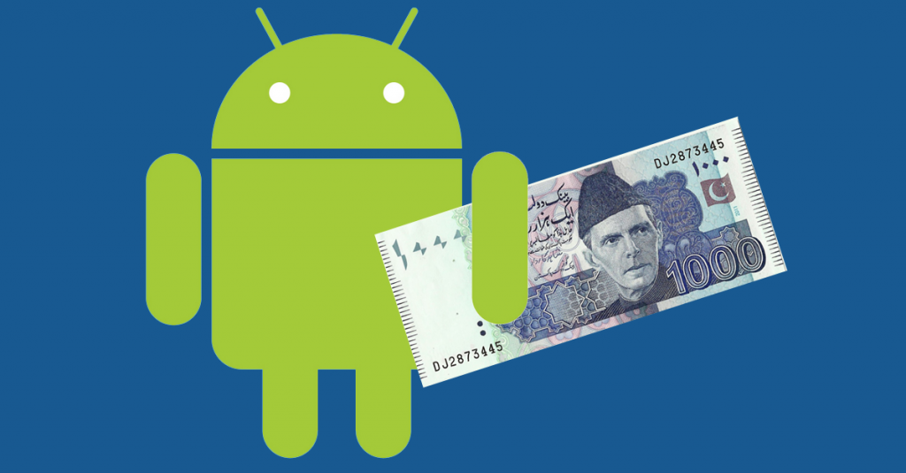 Google brings rupees to pakistani Android Developers